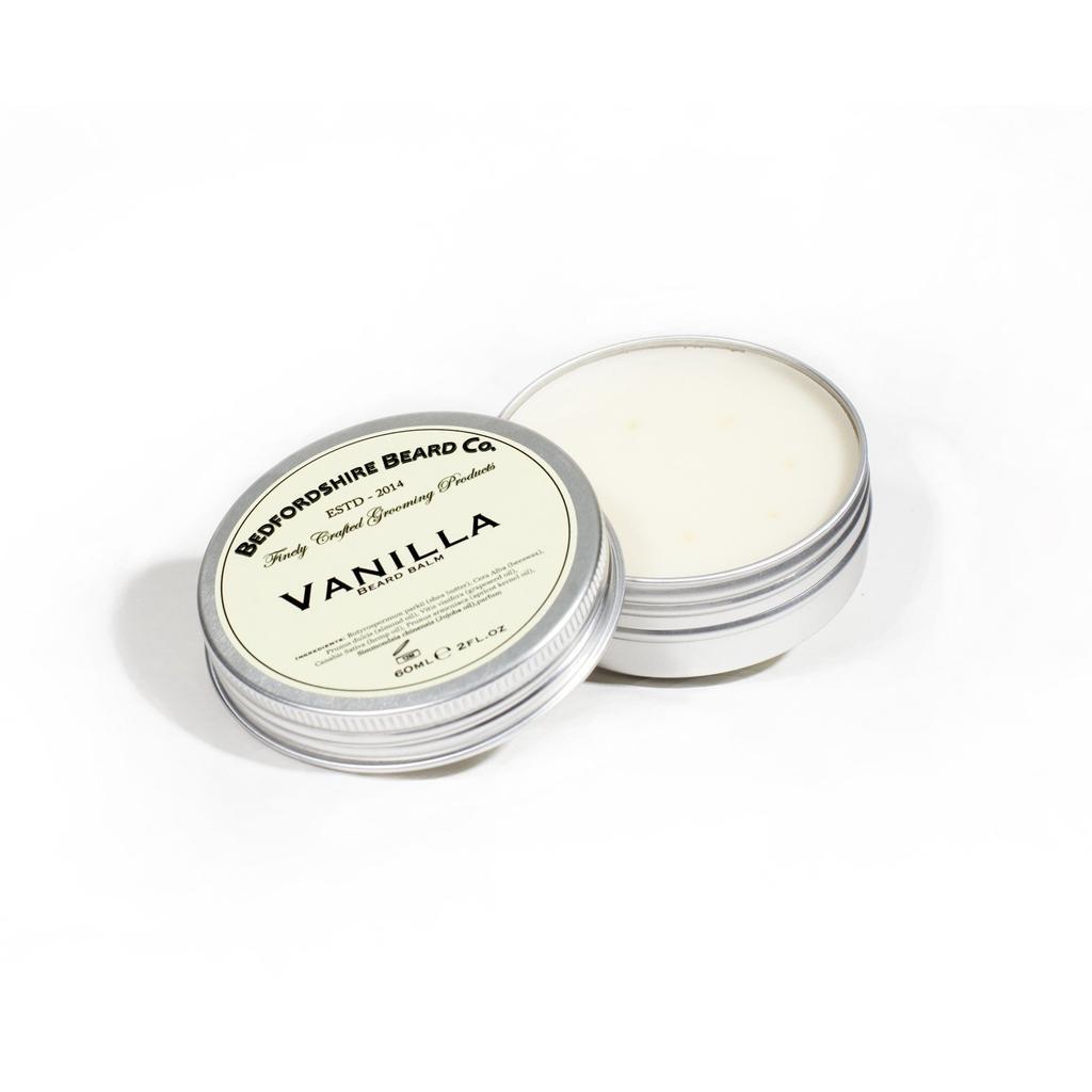 baume barbe vanilla bedfordshire beard co aromatique et. Black Bedroom Furniture Sets. Home Design Ideas