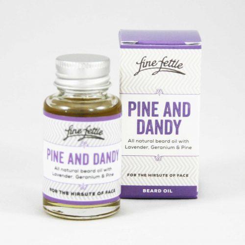 Huile à barbe Pine and Dandy FineFettl