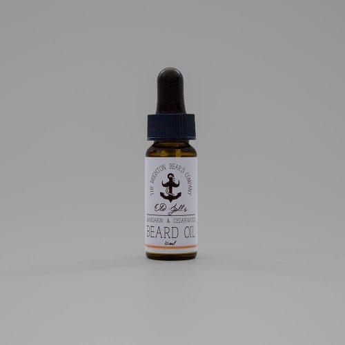The brighton Beard Company Mandarin and Cedar Wood