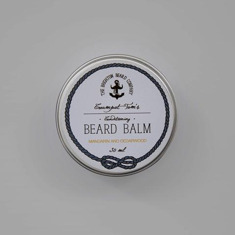 Baume à barbe Mandarin and Cedarwood The Brighton Beard Company