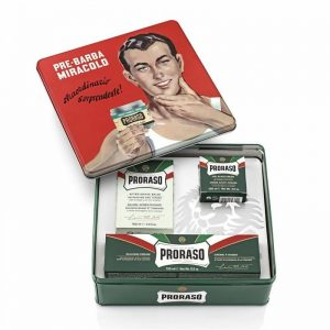 Coffret de rasage Proraso vintage Gino
