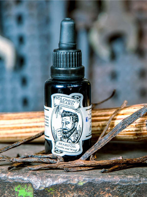 Huile à barbe Solomon's Beard Vanilla & Wood