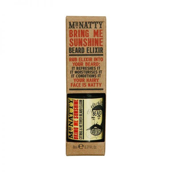 Huile à barbe Mr natty Bring M Sunshine Beard Elixir