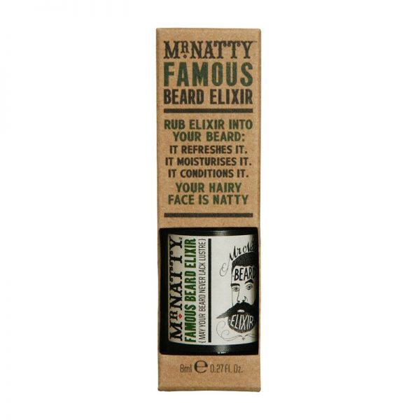 Huile à barbe Mr natty Famous Beard Elixir