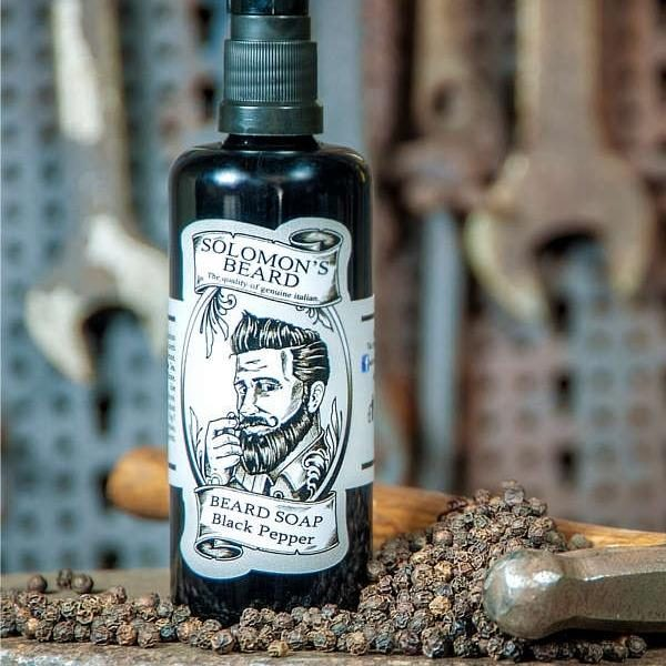 Shampoing à barbe Solomon's Beard Black Pepper