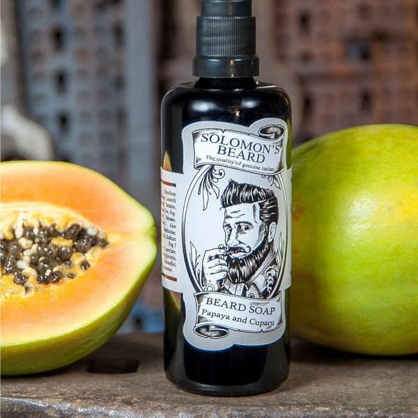 Shampoing à barbe Solomon's papaye cupacu