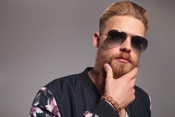Croissance de barbe