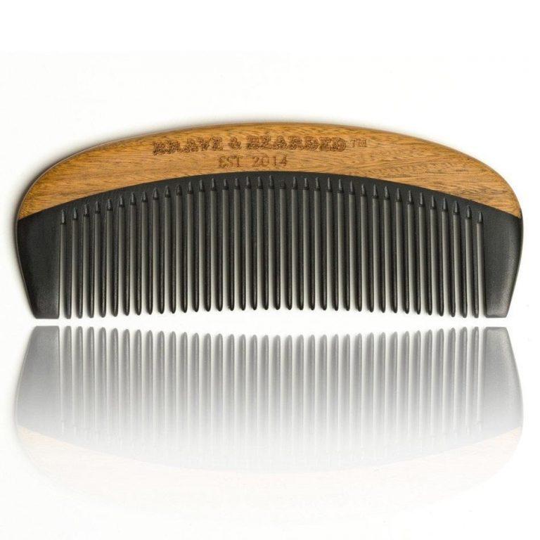 Peigne à barbe en bakélite Brave and Bearded