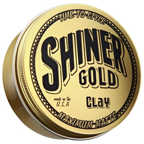 Shiner gold Clay maximum matte