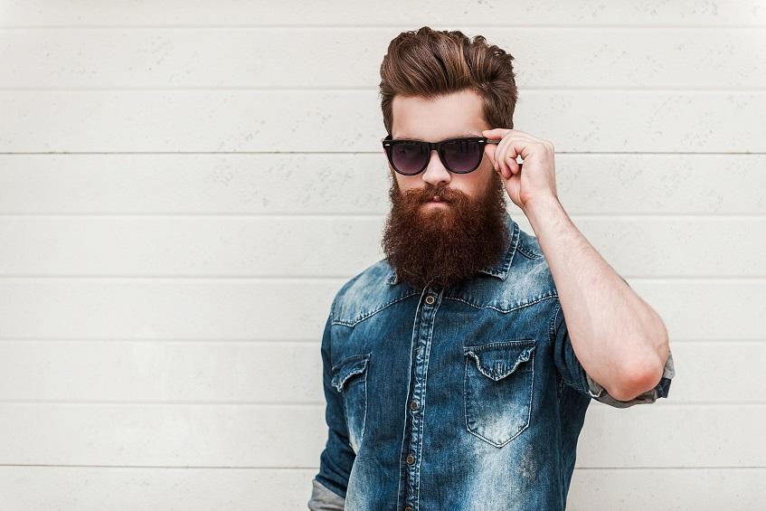 Hydrater la peau sous la barbe