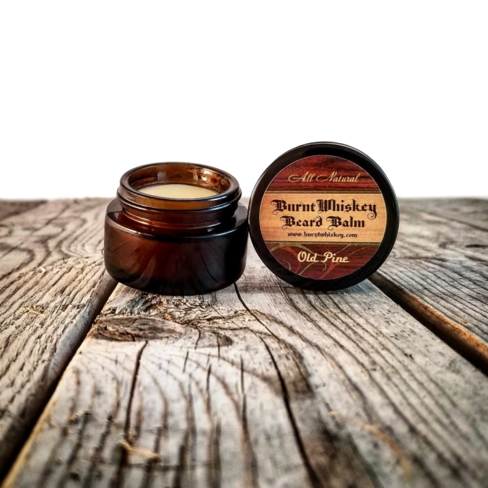 Baume à barbe Old Pine Burnt Whiskey Beard co
