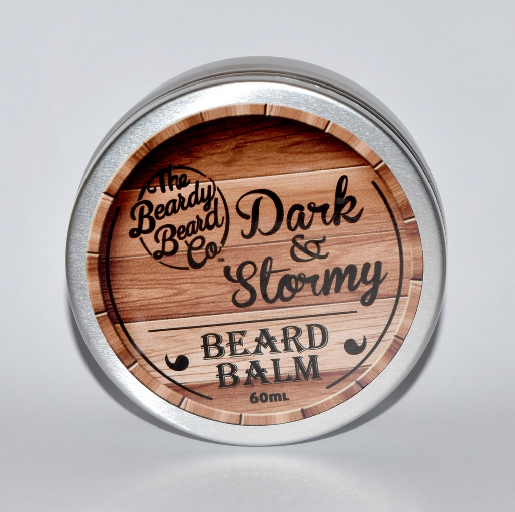 Baume à barbe dark and Stormy The Beady Beard co
