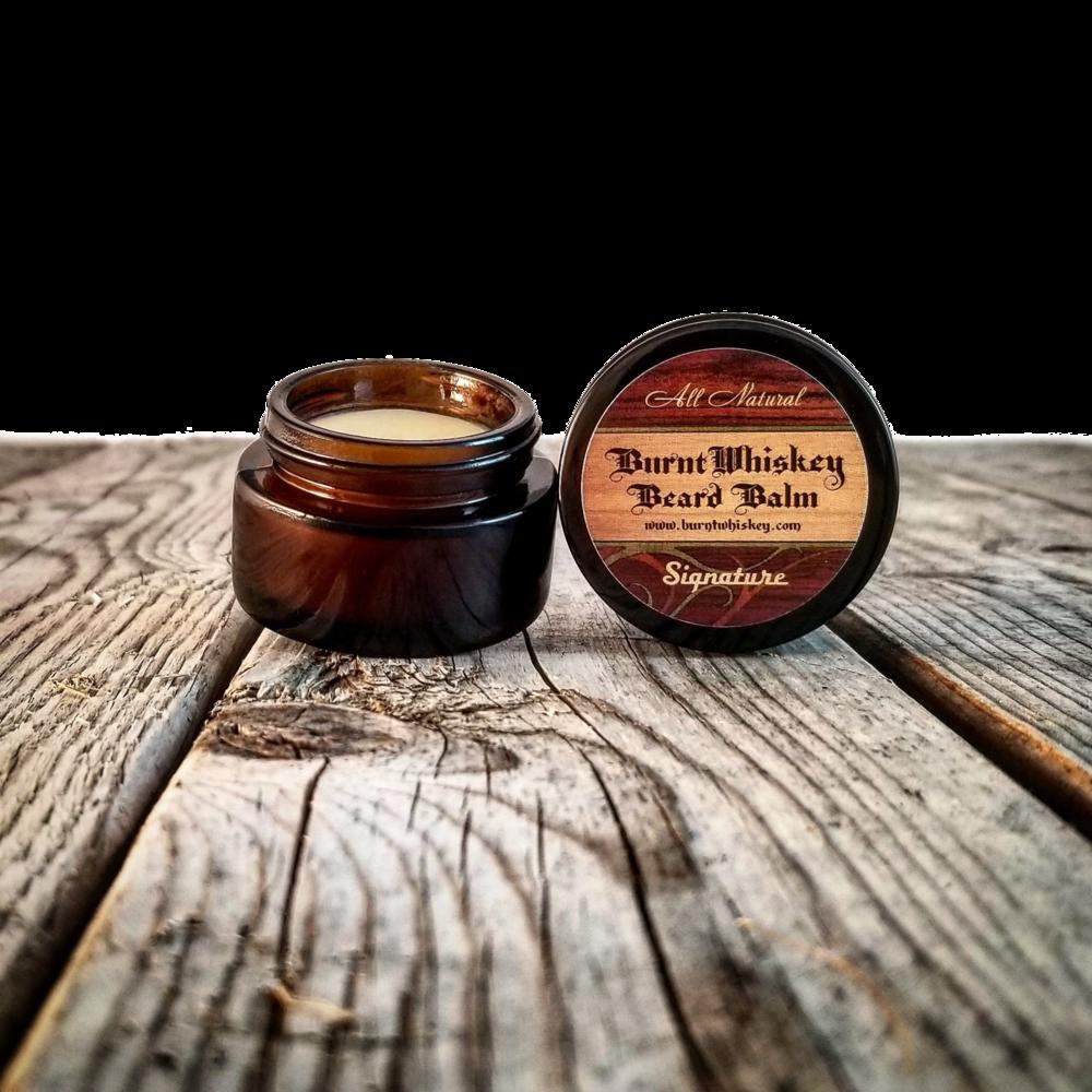 Baume à barbe signature Burnt Whiskey Beard co