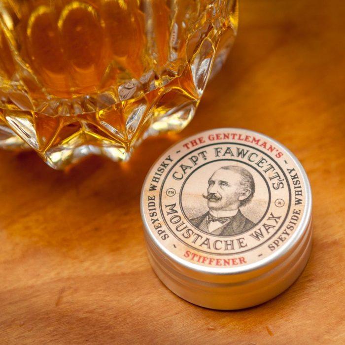 Cire à moustache Captain Fawcett The Gentleman's Stifferner