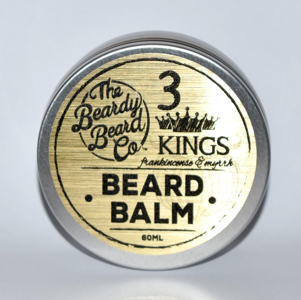 baume à barbe 3 kings the Beardy Beard Co