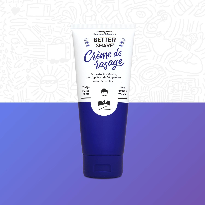 Crème de rasage Better Shave Monsieur BArbier