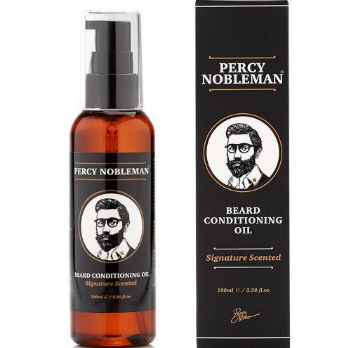 Huile à barbe Percy Nobleman Signature Scent