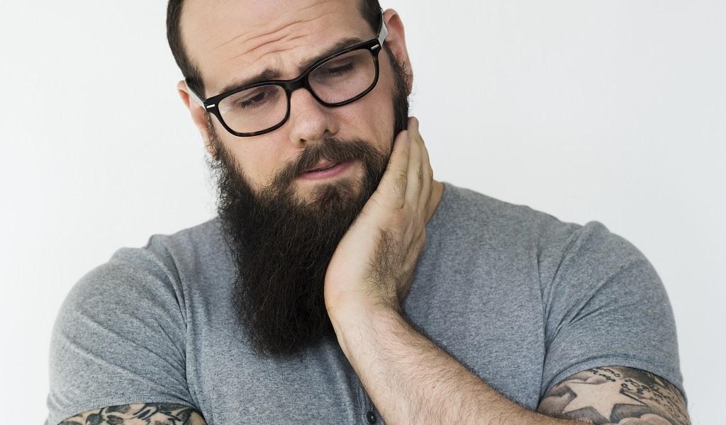barbe qui gratte