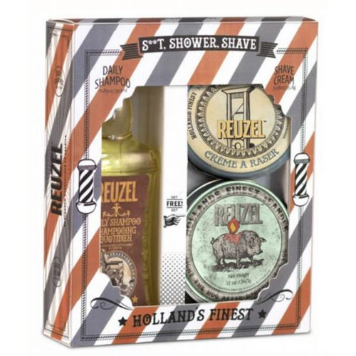 Coffret S**T, Shower, Shave Reuzel
