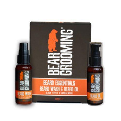 Coffret beard Essentials Bear Grooming
