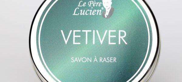 savon du barbier Le Père Lucien Karité Vétiver
