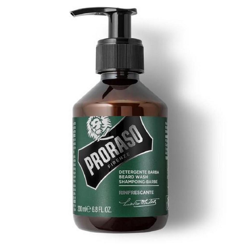 shampoing à barbe Proraso rafraîchissant