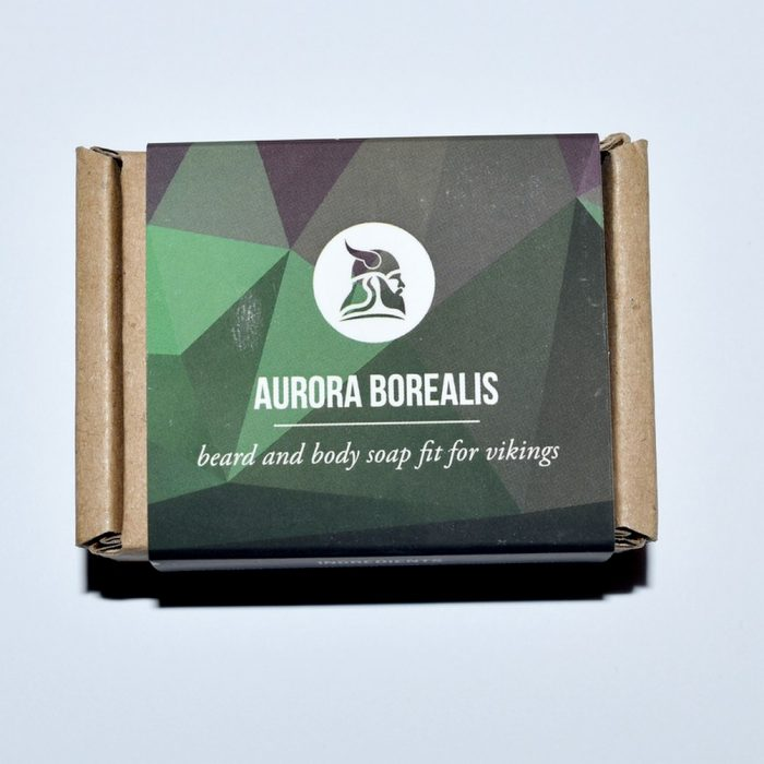 Savon à barbe à la bière Fit For Vikings Aurora Borealis