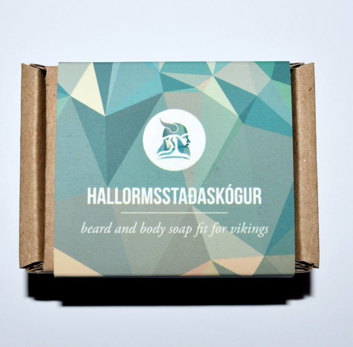 Savon à barbe à la bière Fit For Vikings Hallormsstaðaskógur