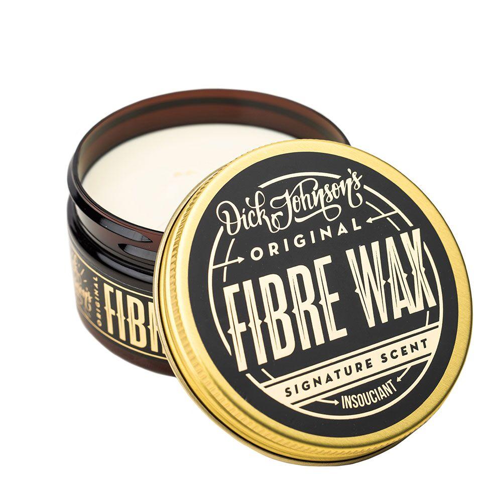 Cire coiffante insouciant Dick Johnson's fibre wax