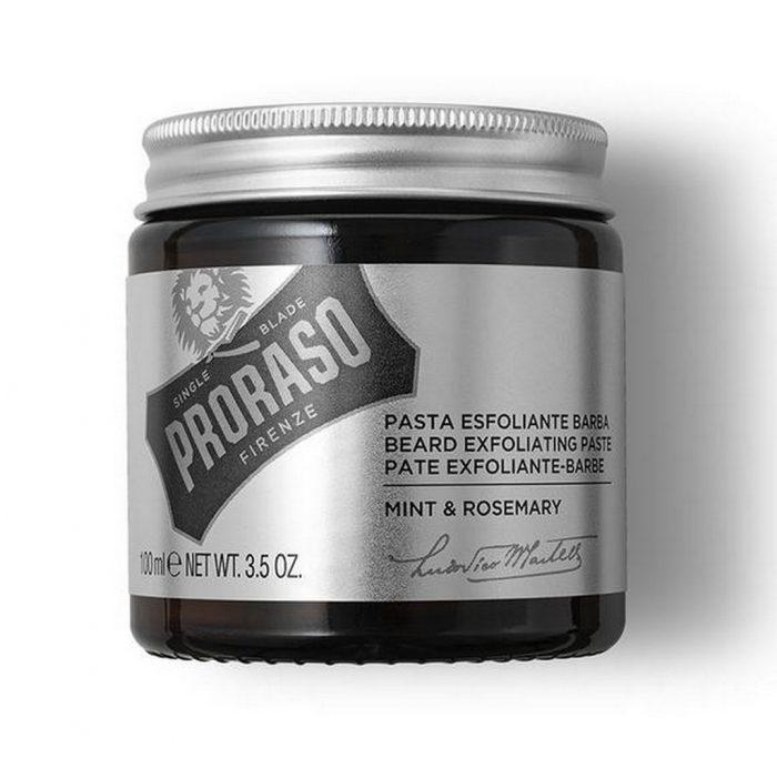 pâte exfoliante barbe Proraso