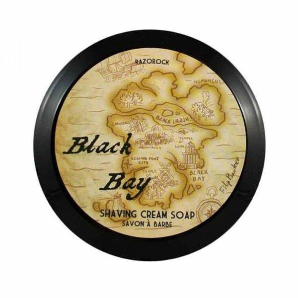 Savon de rasage RazoRock Black Bay