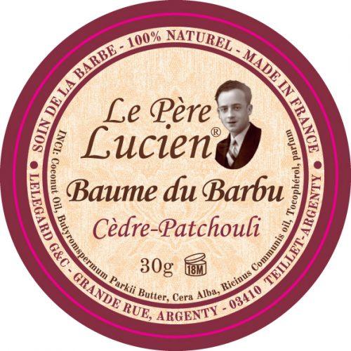 Baume du barbu cèdre-patchouli Le Père Lucien