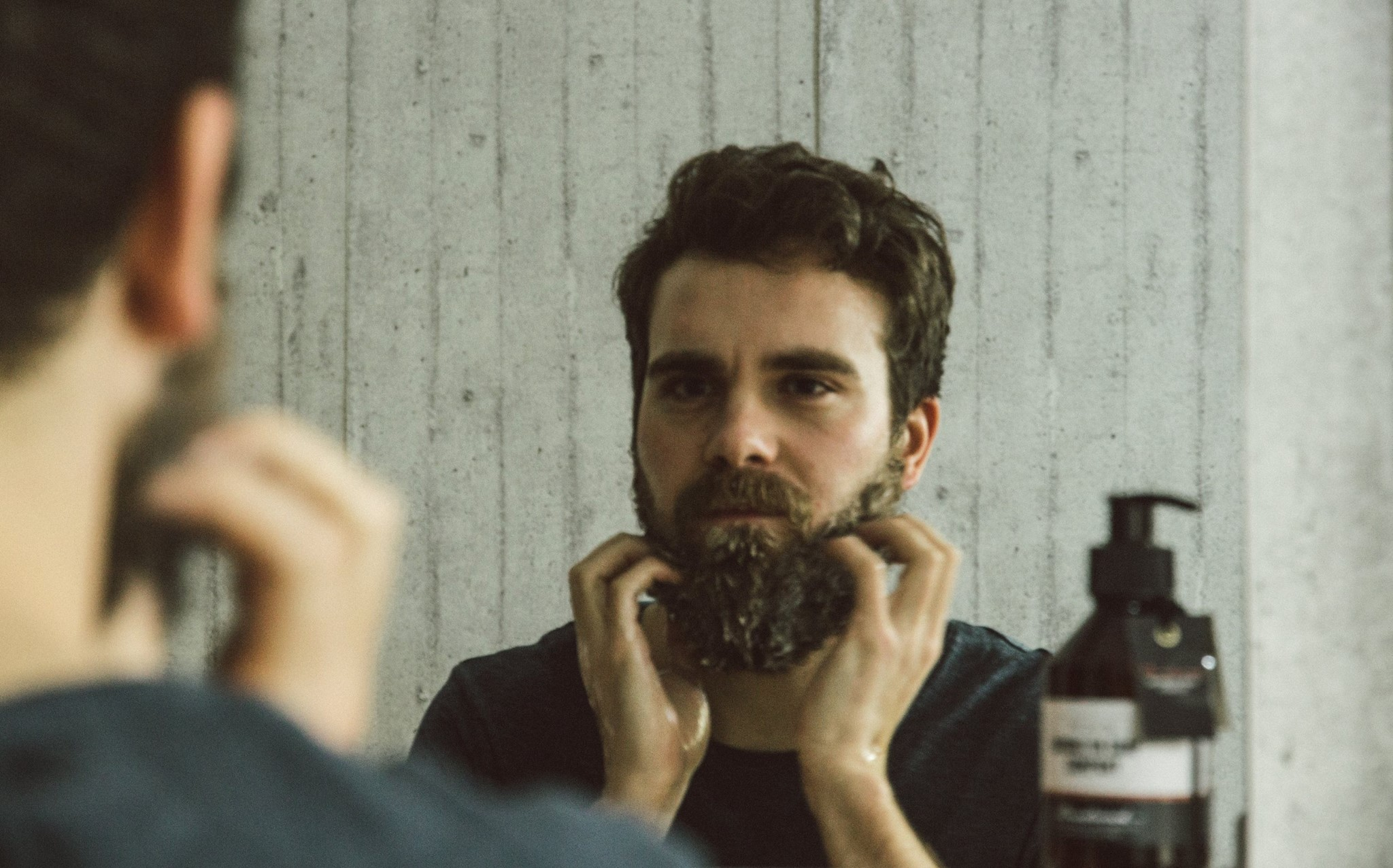Sahmpoing, à barbe