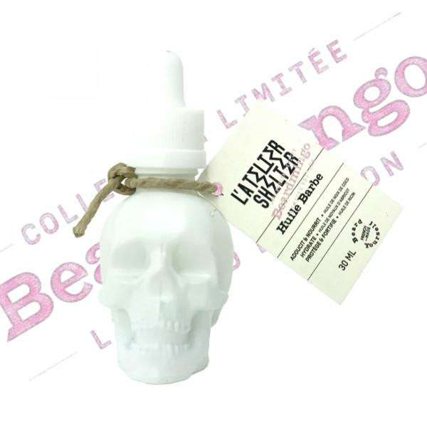 huile à barbe Skull L'Atelier ShelterBeardmingo