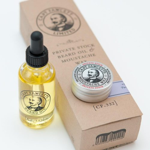 Coffret Private Stock Captain Fawcett's