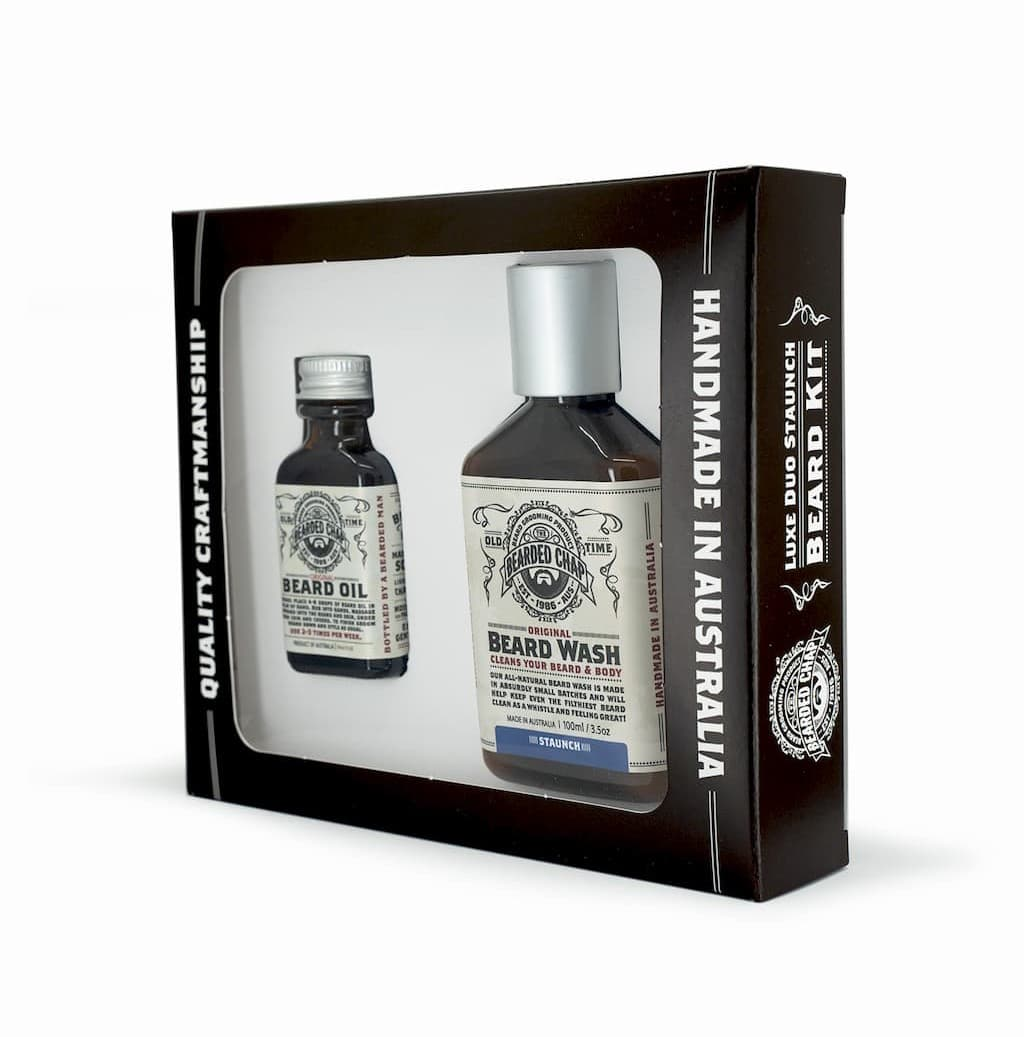 Coffret The Bearded Chap Luxe Duo Staunch