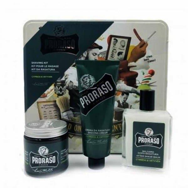 Coffret de rasage Proraso Cypress & Vetyver