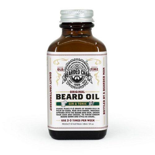 Huile à barbe Gin & Tonic The Bearded Chap