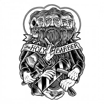 Logo The Holy Barber